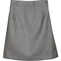 Girls School Wool Mix Pencil Skirt, Grey