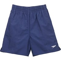 Speedo Boys' Solid Leisure Water Shorts, Navy