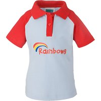 Rainbows Uniform Short Sleeve Polo Shirt, Red