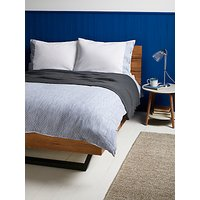 John Lewis & Partners Textured and Decorative Stonewash Stripe Cotton Bedding