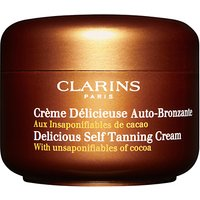 Clarins Delicious Self Tanning Cream, 150ml