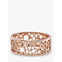 shop for London Road 9ct Rose Gold Diamond Ring, Rose Gold at Shopo