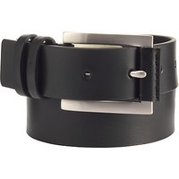 John Lewis Double Keeper Belt, Black