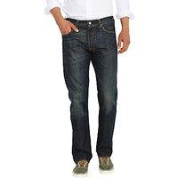 Levis 501 Original Straight Jeans, Dusty Black