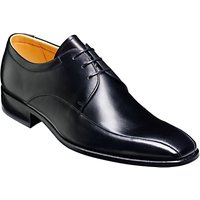 Barker Ross Leather Derby Shoes, Black