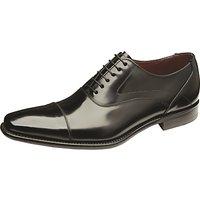 Loake Sharp Leather Shoes, Black