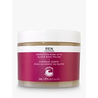 REN Moroccan Rose Otto Sugar Body Polish, 330ml
