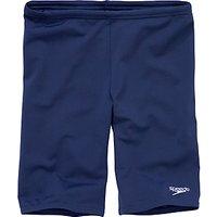 Speedo Boys Jammers Swimming Shorts, Navy