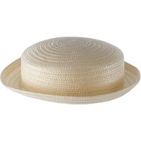 School Girls Straw Boater