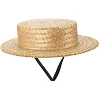 Girls Straw Boater