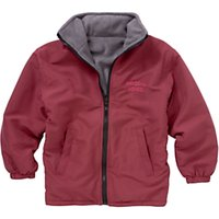 Woodhill School Unisex Reversible Coat, Maroon