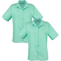 Regents Park Community College Girls Blouse, Pack of 2, Green
