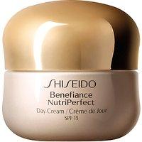Shiseido Benefiance NutriPerfect Day Cream SPF 15, 50ml