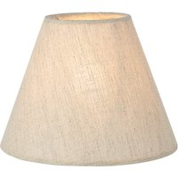 John Lewis Samantha Candle Shade, Natural Linen