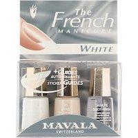 MAVALA French Manicure White Set