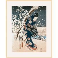 Hiroshige - Snow Scene