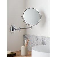 John Lewis Chrome Extending Magnifying Mirror