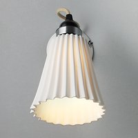 Original BTC Hector Pleat Wall Light at John Lewis Department Store
