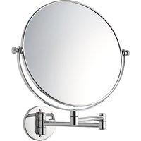 John Lewis Extending Magnifying Bathroom Mirror, 25cm