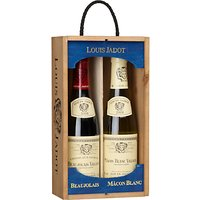 Louis Jadot M con Blanc and Beaujolais Duo Wine Set, 2 x 37.5cl