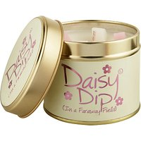 Lily-Flame Daisy Dip Scented Candle Tin