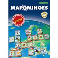 Wild Card Games Mapominoes Europe Dominoes Card Game