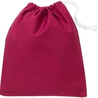 School Shoe Bag, Maroon