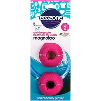 Ecozone Magnoloo Toilet Descaler, Pack of 2