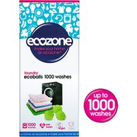 Ecozone Hypoallergenic, Antibacterial Ecoballs, 1000 washes