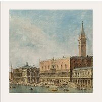 Canaletto- The Basin of San Marco on Ascension Day 1