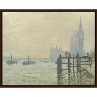 Claude Monet- Thames Below Westminster