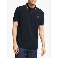 shop for Fred Perry Twin Tipped Regular Fit Polo Shirt at Shopo