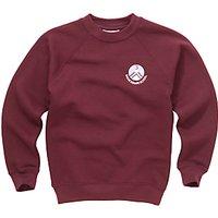 Skene Square Primary School Unisex Sweatshirt, Maroon