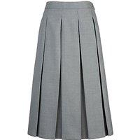 Grey Coat Hospital School Box-Pleat Skirt