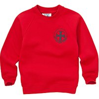 Holy Cross RC Primary School Unisex Sweatshirt, Red