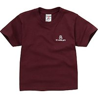 St Anselms School Unisex T-Shirt, Maroon