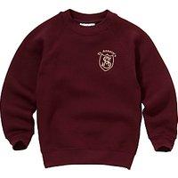 St Anselms Unisex Sweatshirt, Maroon