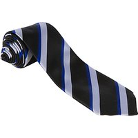 Alleyns Middle School Unisex House Tie, Duttons House, Black Multi