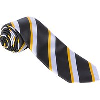 Alleyns Middle School Unisex House Tie, Ropers House, Black Multi