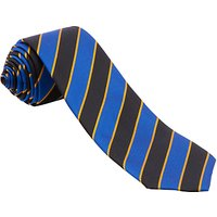 School Tie, Black/Blue