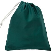 School Drawstring Shoe Bag, Bottle Green
