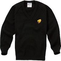 William Hulme's Grammar School Unisex Pullover, Black