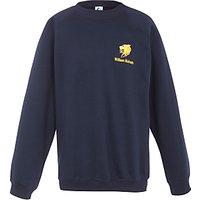 William Hulmes Grammar School Unisex Junior and Senior Sweatshirt, Navy