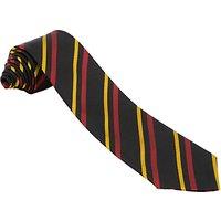 Dame Allan's School Years 1-6 and Senior Girls' Tie, Black Multi