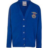 St Peters RC Primary School Girls Cardigan, Royal Blue