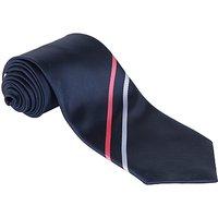 Mayville High School Unisex Senior Tie, L56, Navy Multi