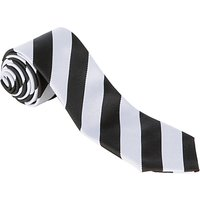 Nottingham High School Junior Tie, Black/White