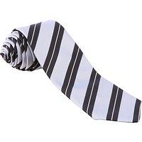 Nottingham High School Sixth Form Tie, Silver/Black