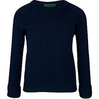 Swanbourne House School Unisex Prep Jumper, Navy