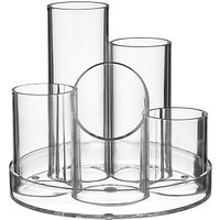 Osco 5 Tube Pen Pot, Acrylic